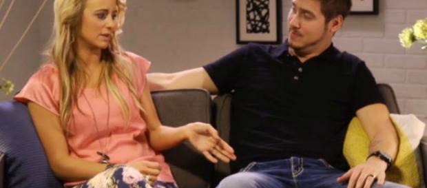 Leah Messer and Jeremy Calvert appear on 'Teen Mom 2.' [Photo via MTV/YouTube]