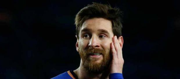 Leo Messi preocupado com a evolução do Real