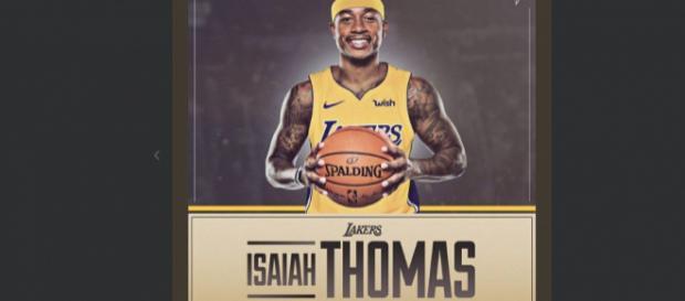 Los internautas ya visten a Isaiah Thomas con la camiseta de los Lakers