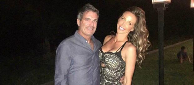 Mario Singer poses with former girlfriend Kasey Dexter. - [Photo via Facebook]