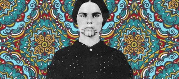 Olive Oatman, la prima donna occidentale tatuata
