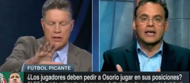 """Peláez llama """"estúpido"""" a David Faitelson"""