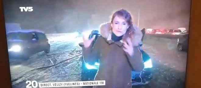 Neige à Paris : Les québécois se moquent des français