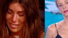 Bianca Atzei contro Elena Morali: la cantante di nuovo in lacrime