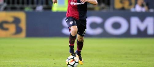 Barella, centrocampista del Cagliari Calcio