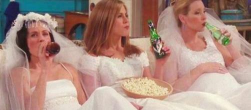 Cena do seriado ''Friends''. Foto: Reprodução/Warner.