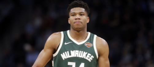 Giannis Antetokounmpo replaces Big Baller Brand sweatshirt with ... - usatoday.com
