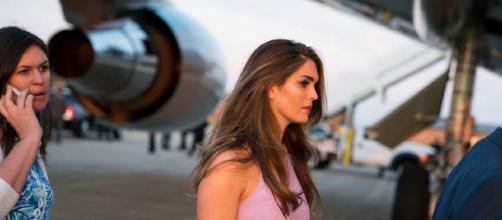 Hope Hicks is the latest White House official to resign. Photo Credit: Lawrence Lease