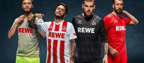 La nuevas camisetas del futbol