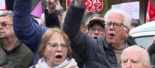Manifestación de pensionistas - lasexta.com