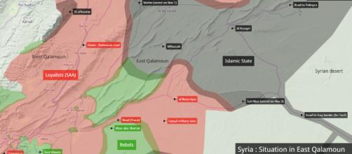 Map of Syrian civil war, courtesy of Flickr