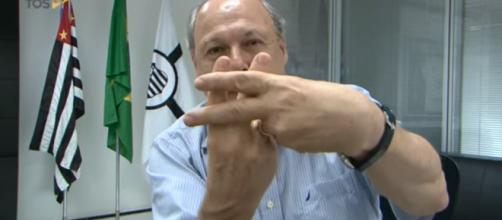 Presidente santista gravou um vídeo para chamar o torcedor