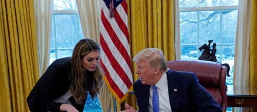 Hope Hicks lascia il presidente americano (foto - newsweek.com)