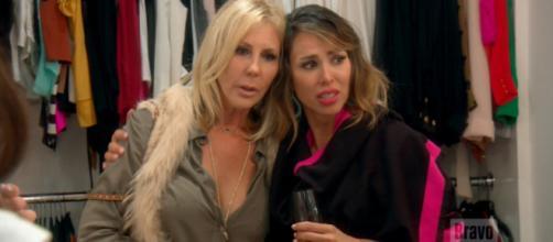 Vicki Gunvalson and Kelly Dodd appear on 'RHOC.' - [Photo via Bravo / YouTube screencap]