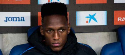 Yerry Mina ainda não está adaptado no Barça