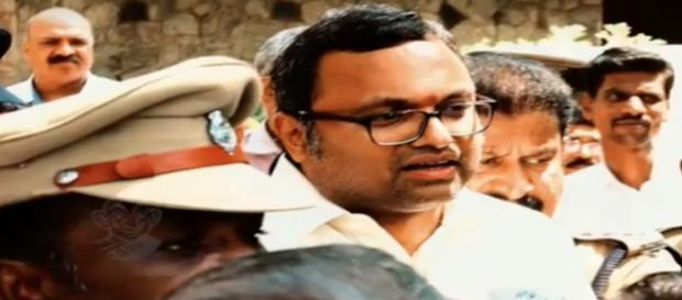 Karti Chidambaram [Image Credit: NDTV/YouTube]