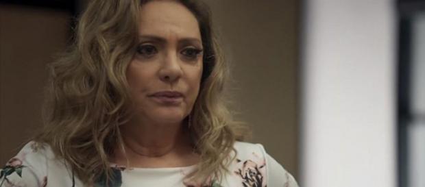 Nádia vira babá de neto negro (Divulgação/TV Globo)