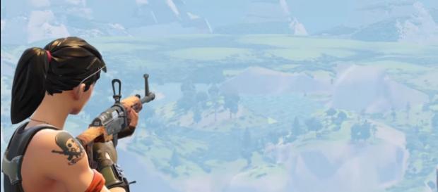 The Hunting Rifle in 'Fortnite' - (Image Credit: Muselk/YouTube screencap)