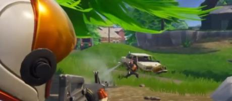 'Fortnite' - (Image Credit: Seanamh420/YouTube)