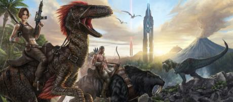 'Ark: Survival Evolved' (via Wikimedia Commons - SimonCZ - own work)