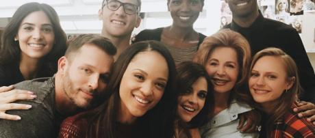 'Days of our Lives' cast. (Image via Sal Stowers/Instagram)