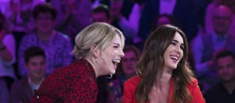 Emma Marrone e Silvia Toffanin