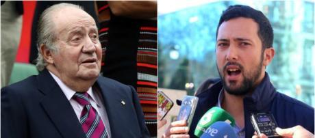 Juan Carlos I y el rapero Valtonyc