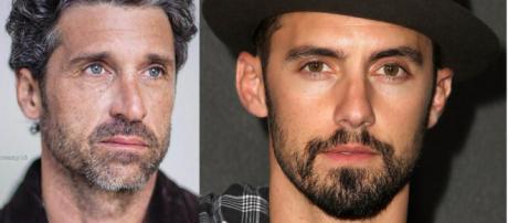 Patrick Dempsey e Milo Ventimiglia FONTE: Google