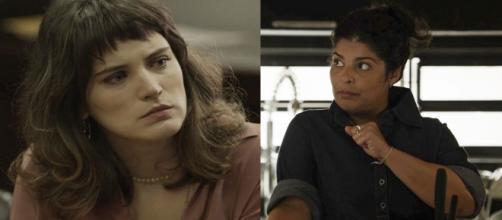 Clara descobre traição de Janete (Divulgação/TV Globo)