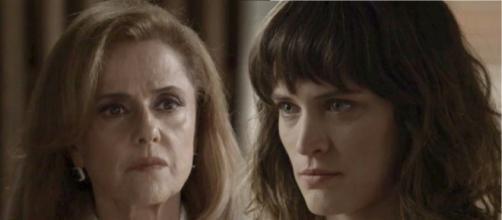 Clara flagra Sophia cometendo um crime. (foto reprodução).
