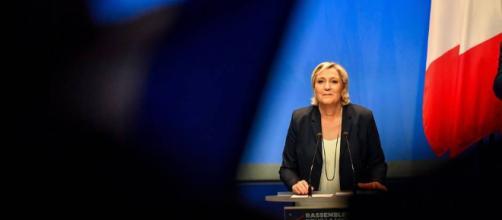 Congrès du FN. Avec son « Rassemblement national », Marine Le Pen ... - ouest-france.fr