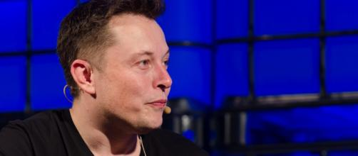 Elon Musk during a Q&A session in 2013 [Image source: Flickr.com]