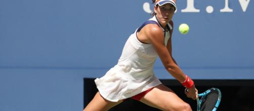 Garbine Muguruza advances, Johanna Konta out as Maria Sharapova ... - i-scmp.com