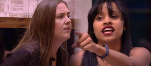 Gleici e Patrícia discutem no ''BBB18''