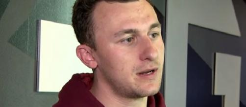 Johnny Manziel was a disappointment with the Browns (Image Credit: ABC13 Houston/YouTube)