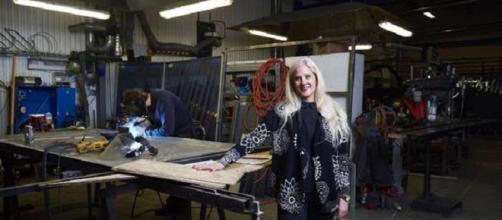 La empresa familiar está cambiando a la industria de la forja.