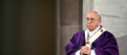 Papa Francesco presente alla terza predica di Quaresima - miopapa.it