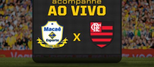 Macaé x Flamengo ao vivo neste sábado (10)