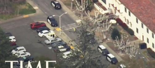 Overview of the veterans home where the shooting took place-Photo-( Image credit -Time-Youtube.com)