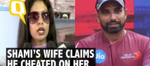 Shami's wife makes serious allegations against him. (Image credit -the Quint-Youtube.com)