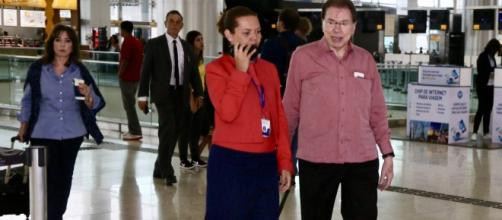 Silvio Santos vai estar novamente ausente do país