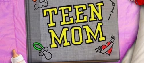 Teen Mom TV show logo   MTV - com.au