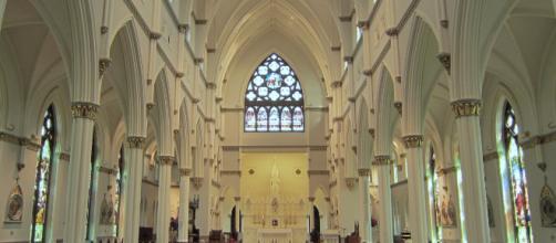 The inside of Cathedral of St. John's Baptist (Image via Spencer Means - Flickr)