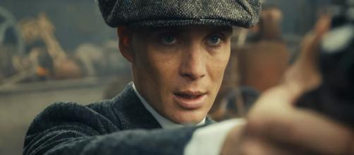 Thomas Shelby is the main character of the show. [image source: BBC/YouTube screenshot]