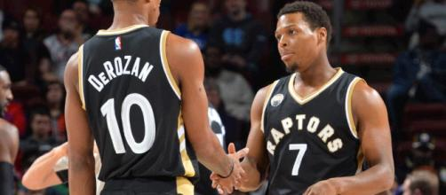 WATCH: DeMar DeRozan and Kyle Lowry Dominate the Utah Jazz ... - slamonline.com
