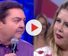Faustão diz que Marília Mendonça está gorda e cantora dá o troco ao vivo