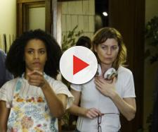 Kelly McCreary, Ellen Pompeo, Jesse Williams FONTE: The Holliwood Reporter
