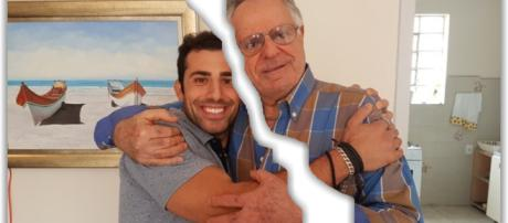 Tio de Kaysar não quer o sobrinho ao lado de Patrícia. (foto reprodução).