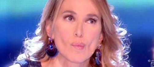 Barbara D'urso piange in diretta tv