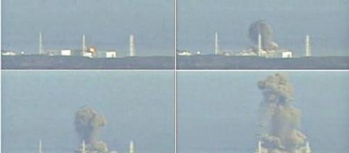 Imagenes de cómo hubo la explosión en la central nuclear de Fukushima después del terremoto y tsunami que arrasó la zona.